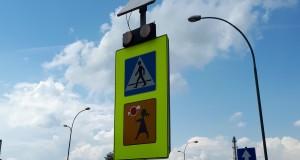 Aktywne znaki na przejściach dla pieszych
